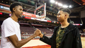 USC basketball's Evan Mobley and Isaiah Mobley. (Cassy Athena/Getty Images)