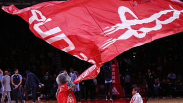Houston Rockets mascot Clutch (Photo by Bob Levey/Getty Images)