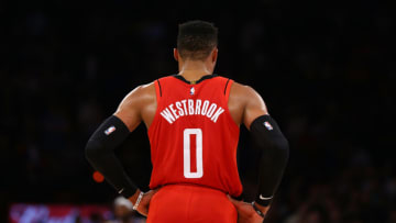 Russell Westbrook #0 of the Houston Rockets (Photo by Mike Stobe/Getty Images)