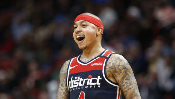 Isaiah Thomas #4 of the Washington Wizards (Photo by Michael Reaves/Getty Images)
