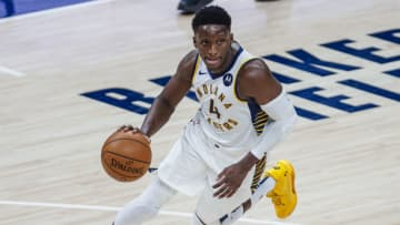 Victor Oladipo #4 of the Indiana Pacers (Photo by Michael Hickey/Getty Images)