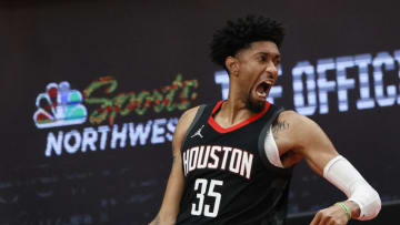 Christian Wood #35 of the Houston Rockets (Photo by Steph Chambers/Getty Images)