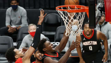 Jae'Sean Tate #8 of the Houston Rockets (Photo by Steph Chambers/Getty Images)