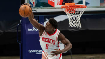 Jae'Sean Tate #8 of the Houston Rockets (Photo by Jacob Kupferman/Getty Images)