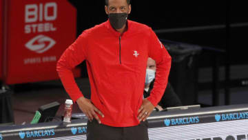 Head coach Stephen Silas of the Houston Rockets (Photo by Jim McIsaac/Getty Images)