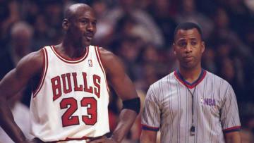 Michael Jordan Mandatory Credit: Jonathan Daniel /Allsport