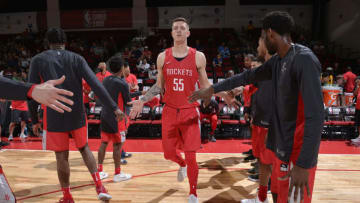 Isaiah Hartenstein #55 of the Houston Rockets (Photo by David Dow/NBAE via Getty Images)