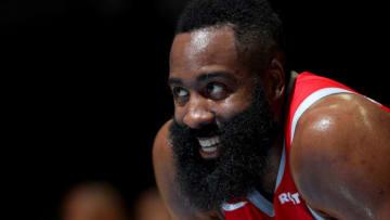 James Harden #13 of the Houston Rockets (Photo by Joe Murphy/NBAE via Getty Images)