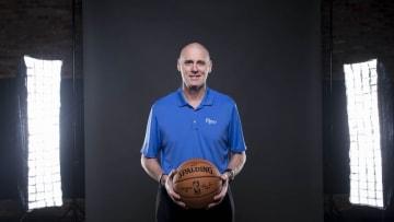 Sep 26, 2016; Dallas, TX, USA; Dallas Mavericks head coach Rick Carlisle poses for a photo during Media Day at the American Airlines Center. Mandatory Credit: Jerome Miron-USA TODAY Sports