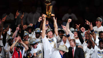 Dallas Mavericks Dirk Nowitzki AFP PHOTO / Mark RALSTON (Photo credit should read MARK RALSTON/AFP/Getty Images)