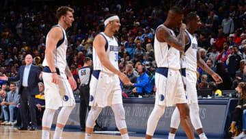 Seth Curry Luka Doncic Dallas Mavericks (Photo by Bart Young/NBAE via Getty Images)