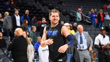 Dallas Mavericks Luka Doncic Copyright 2019 NBAE (Photo by Jesse D. Garrabrant/NBAE via Getty Images)