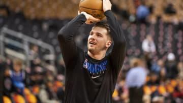 Dallas Mavericks Luka Doncic Copyright 2019 NBAE (Photo by Mark Blinch/NBAE via Getty Images)