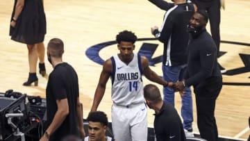 Dallas Mavericks Nate Hinton Mandatory Credit: Sam Navarro-USA TODAY Sports