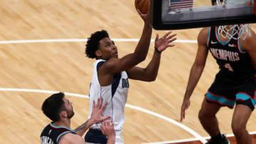 Dallas Mavericks Nate Hinton Mandatory Credit: Petre Thomas-USA TODAY Sports