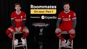 Kostas Tsimikas vs. Xherdan Shaqiri | Roommates on Tour E3