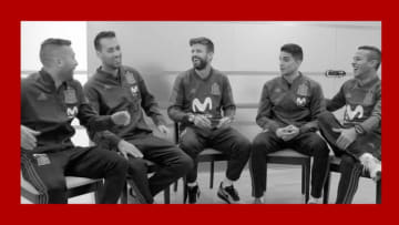Gerard Piqué, Jordi Alba, Sergio Busquets, Marc Bartra and Thiago Alcantara share their first World Cup memories in roundtable and more.