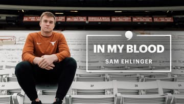 Each time Texas quarterback Sam Ehlinger takes the field, it's a chance to honor his late father. Through the good times and the bad, there was always Texas football.
