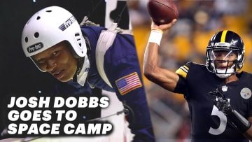 Steelers QB Josh Dobbs Goes to Space Camp | The Players' Tribune