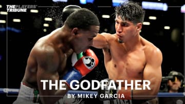 """''No other fighter is doing what I'm doing."""" Boxer Mikey Garcia has a story for you."""