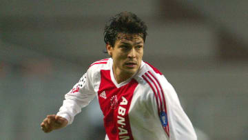 Jari Litmanen of Ajax in action