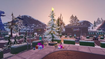 Here is where to find all Christmas Trees in Fortnite