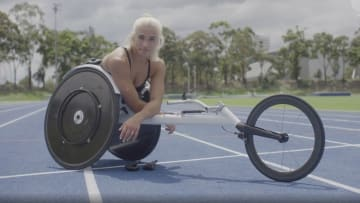 """""""Everything that you are is enough."""" Australian Para-athlete Madison de Rozario talks self-confidence as she shares her journey to becoming the most authentic version of herself."""