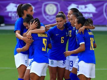 2021 SheBelieves Cup - Canada v Brazil