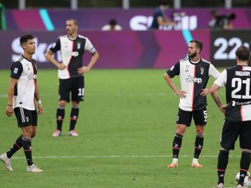 Cristiano Ronaldo, Miralem Pjanic, Leonardo Bonucci, Gonzalo Higuain