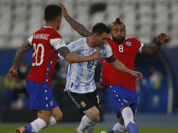 Argentina and Chile played out a 1-1 draw in the opening Group B game of the Copa America