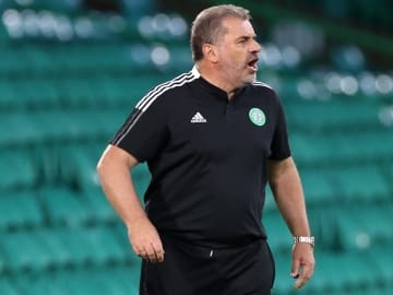 Postecoglou watched Celtic miss out on a spot in the Champions League
