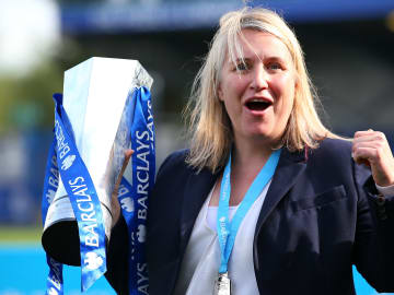 Emma Hayes has led Chelsea into the Women's Champions League final against Barcelona