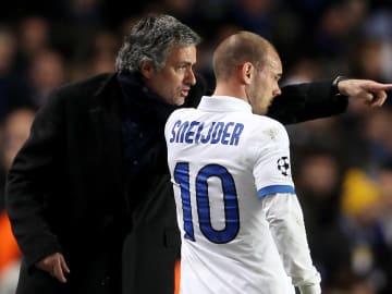Jose Mourinho, Wesley Sneijder