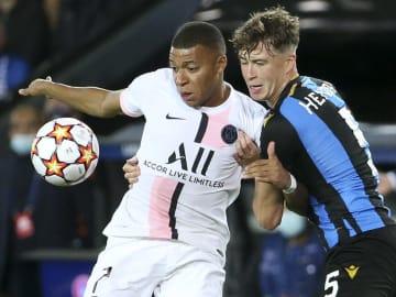 Jack Hendry helped Club Brugge keep a lid on Kylian Mbappe