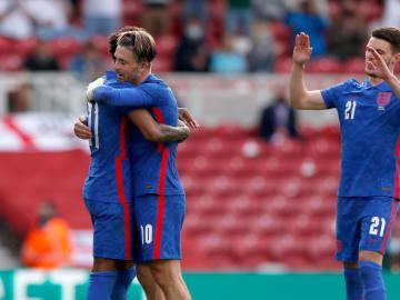 Último amistoso de la selección inglesa