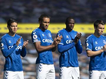 James Rodríguez, Dominic Calvert-Lewin, Abdoulaye Doucouré, Seamus Coleman