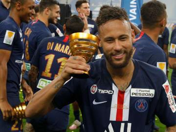 Neymar, pemain sepak bola termahal Brasil dan dunia dengan nilai transfer mencapai 220 juta euro