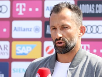 Hasan Salihamidzic has played down Bayern's interest in Toni Rudiger