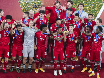 Bayern are the reigning Club World Cup and Champions League winners