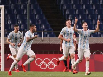 Argentina quedó eliminada de los Juegos Olímpicos masculinos en fútbol.