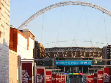 Wembley is in line to host the Champions League final