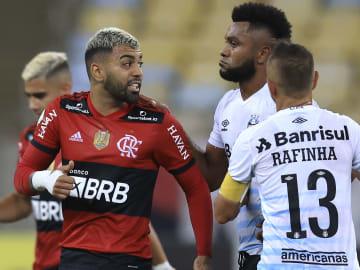 O Flamengo não se encontrou contra o Grêmio e acabou perdendo três pontos na 21ª rodada do Campeonato Brasileiro.