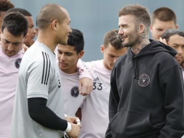 David Beckham has answered questions about Cristiano Ronaldo & Lionel Messi