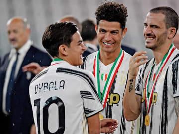 Cristiano Ronaldo, Leonardo Bonucci, Paulo Dybala