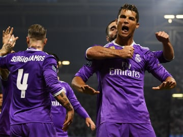 Cristiano Ronaldo collects Champions League trophies and records for fun