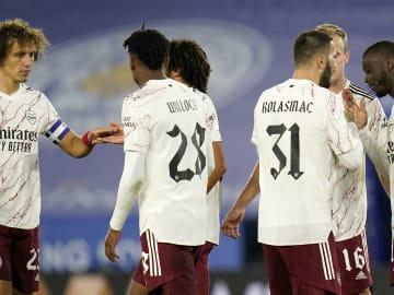 Nicolas Pepe, Sead Kolasinac, Joe Willock, David Luiz
