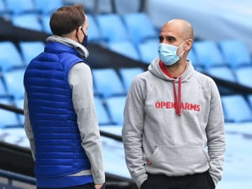 Tuchel and Guardiola will go head to head on Europe's grandest stage