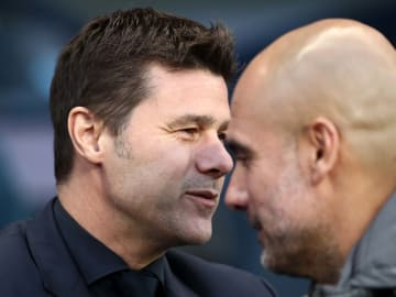 Mauricio Pochettino and Pep Guardiola's sides face off in this season's Champions League semi-final
