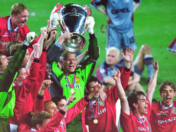 Man Utd pulled off an unbelievable late comeback in the 1999 Champions League final