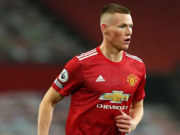 Scott McTominay wears the number 39 shirt for Man Utd